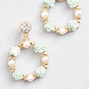 Modcloth Within Wreath Earrings